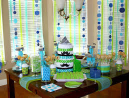 mustache baby shower decorations slightly overdone but some ideas for a baby shower party