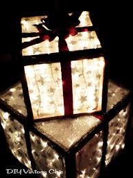 outdoor lighted presents hometalk