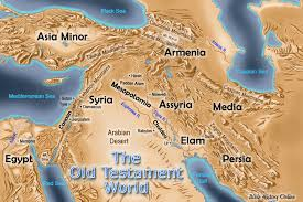 middle east map moses time map of the testament world bible history