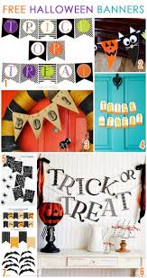 123 best halloween banners images on pinterest halloween ideas