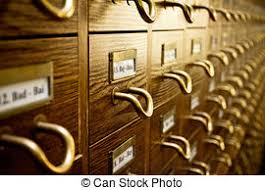 Library Catalog Cabinet Stock Photos Of Library Card Catalog Card Catalog Cabinet In