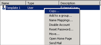 how to mark an active directory attribute to be copied when