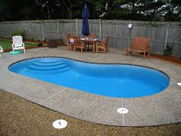Cost Of Small Pool In Backyard Fresh Design Viking Pools Cost The Fiberglass Swimming Pool Prices