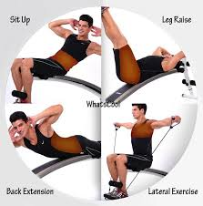 Back Extension Sit Up Bench Buy Sit Up Bench Foldable Barbell Workout Bench Abs Training Ab