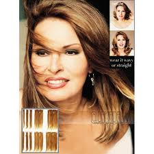 18 inch extensions 18 inch clip in human hair extensions by raquel welch