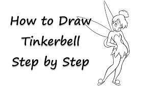draw tinkerbell tinkerbell draw tinkerbell