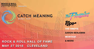 catch meaning festival rock roll of fame