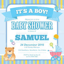 Babyshower Invitation Card Baby Shower Invitation Card Stock Vector Art 509552730 Istock