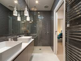 Modern Tiled Bathroom Grey Tiled Bathrooms For The Contemporary Home Adorable Home