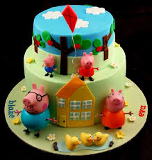 George Pig Cake Decorations Peppa Pig Cakes Google Search Mia U0027s 2nd Birthday Pinterest