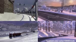 complete winter mod v 2 1 ets 2 mods