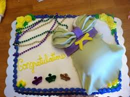 mardi gras cake baby mardi gras themed baby shower belly cake cakecentral