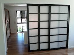 sliding doors interior room divider easi slide white room divider