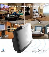 Living Room Bluetooth Speakers Portronics Soundchief Bluetooth Speaker Black Buy Portronics