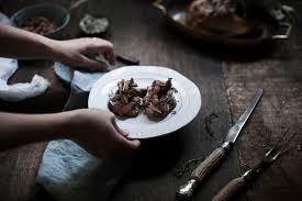 house canape mixed and pheasant canape bread barrow