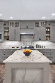 gray kitchen cabinets with white crown molding 44 gray kitchen cabinets or heavy light