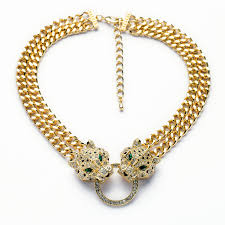chunky statement chain necklace images Wholesale wholesale n00876 hip hop cool gold chunky chain two jpg
