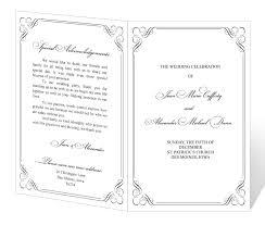 printable wedding program 28 images of prinatble downloadable program template wedding