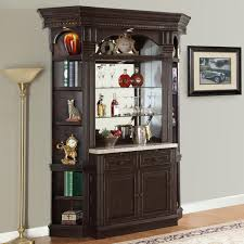 Bar Hutch Parker House Venezia 4 Piece Bar Set With Granite Counter And