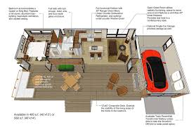 floor plans for 1 homes modern style house plan 1 beds 1 00 baths 480 sq ft plan 484 4
