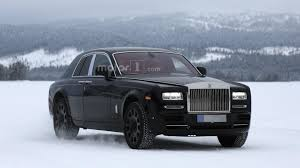 rolls royce cullinan mule spied cold weather testing