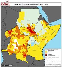 africa map 2014 ipcinfo map detail