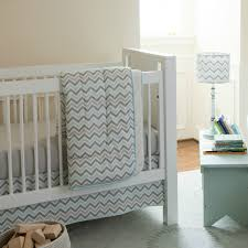 Gray Chevron Crib Bedding Best Grey Chevron Crib Bedding All Modern Home Designs