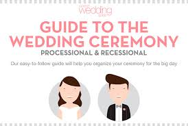 wedding ceremony processional order guide environment homevideos
