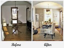 Before And After Room Makeovers Before And After Room Makeovers - Dining room makeover