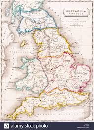Map Of England by Map Of England Britannia Antiqua From The Atlas Of Ancient