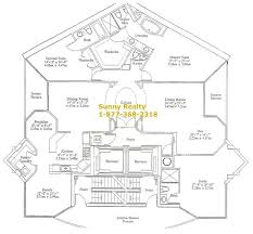 one floor plan one isles condo 18333 collins ave miami fl