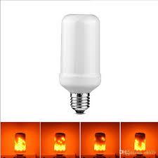 best e26 e27 2835smd 5w 3 modes led flame effect fire light bulbs