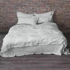 Grey Linen Bedding - basic duvet cover u2013 linenshed