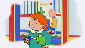 caillou learns insects caillou videos pbs kids