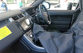 land rover steering wheel cover 2017 range rover sport facelift spied inside u0026 out autoevolution