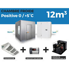 photo chambre froide chambre froide positive 12m3 à 3 799 00 ht chez thermofroid