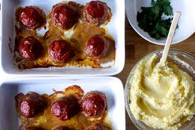 The Smitten Kitchen Cookbook by Tomato Glazed Meatloaves With Brown Butter Mashed Potatoes