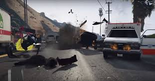 guy accidentally causes one of the biggest crashes ever in gta 5