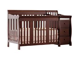 Best Convertable Cribs 4 In 1 Convertible Crib With Changing Table Oo Tray Design