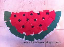 lil u0027 miss smartypants paper plate watermelon craft