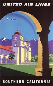 California travel posters images 1950s california travel poster joseph binder jpg