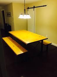 Flat Bar Table Legs Gallery Dirt Frog Furnituremetal Legs U0026 Brackets