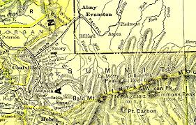 County Map Utah by Utah 1895 County Maps