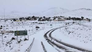 Snow In Sahara Snow In Africa Pic Travel Nigeria