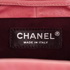 chanel shearling calfskin quilted small mountain backpack pink 140932