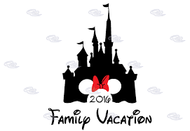 cinderella castle minnie mickey mouse family vacation 2017