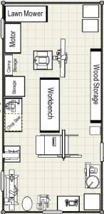wood workshop layout images shop plan woodworking pinterest shop plans woodworking and