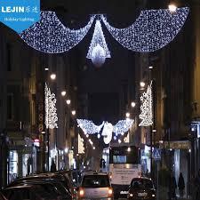 outdoor christmas street light decoration outdoor christmas