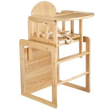 mcc brand new 3 in 1 baby wooden high chair with play table antique