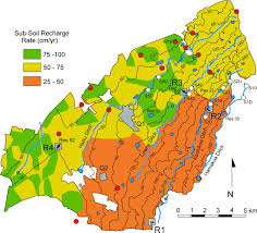 Radon Map Usa by Characterizing A Shallow Groundwater System Beneath Irrigated
